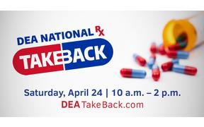 Spring 2021 DEA Drug Take Back Day